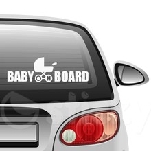 Baby on board 8 on car