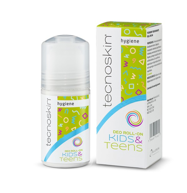 TECNOSKIN DEO ROLL-ON KIDS + TEENS 50ML