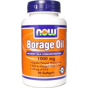 Now foods borage oil 1000mg