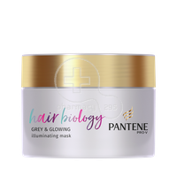 PANTENE - PRO-V HAIR BIOLOGY Grey & Glowing Illuminating Mask - 250ml
