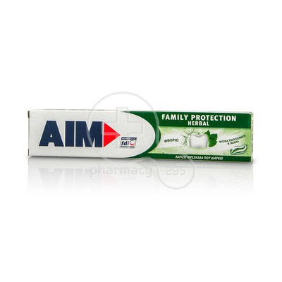 AIM - Family Protection Herbal Οδοντόκρεμα - 75ml