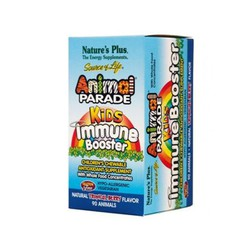 Nature's Plus Animal Parade Kids Immune Booster 90 Tαμπλέτες