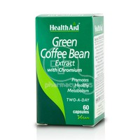 HEALTH AID - Green Coffee Bean Extract - 60caps
