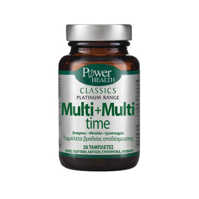 Power Health - Classics Platinum Range Multi+Multi Time - 30tabs