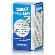 Health Aid MALE MAX - Σεξουαλική Υγεία, 30veg. tabs