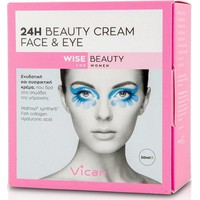Vican Wise Beauty 24h Face & Eye Cream 50ml
