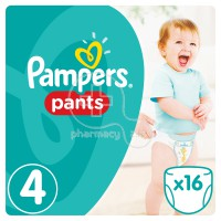 PAMPERS - Pants No4 (9-14kg Junior) - 16 πάνες