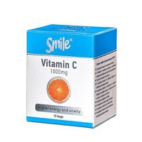 SMILE VITAMIN C 1000 MG, 15 SACHETS