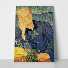 Van gogh portrait of dr gachet
