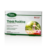 POWER HEALTH - PLATINUM RANGE Think Positive - 30caps