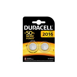 Duracell Code:2016 3V Lithium Battery Μπαταρία Λιθίου 2 Τεμαχίων