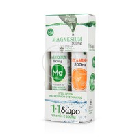 POWER HEALTH - PROMO PACK Magnesium 300mg Stevia (20eff.tabs) ME ΔΩΡΟ Vitamin C 500mg (20eff.tabs)