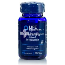 Life Extension Gamma E Tocopherol - Αντιγήρανση, 60 softgels