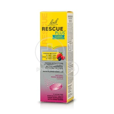 POWER HEALTH - BACH RESCUE Plus - 15eff.tabs