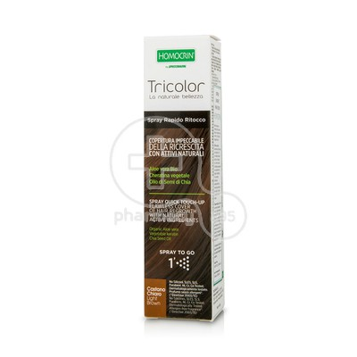 HOMOCRIN - TRICOLOR Spray Quick Touch Up (Light Brown) - 75ml