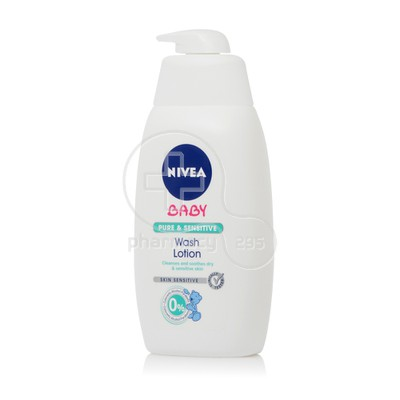 NIVEA - NIVEA BABY Pure & Sensitive Wash Lotion - 500ml