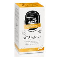 ROYAL GREEN VITAMIN D3 300IU 120TABL