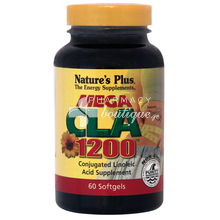 Nature's Plus MEGA CLA 1200 - Αδυνάτισμα, 60 caps