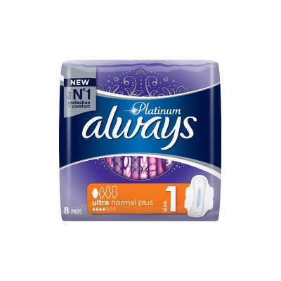 Always - Platinum Size 1ultra normal plus - 8τεμ.