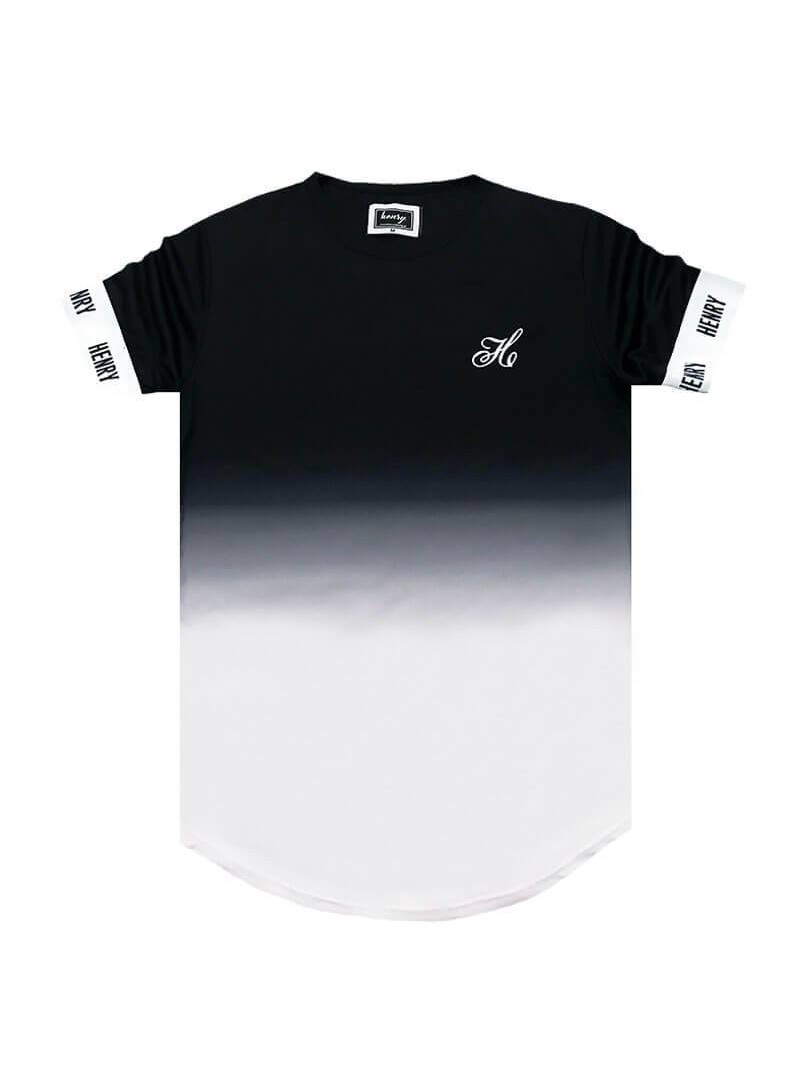 HENRY CLOTHING BLACK FADE T-SHIRT