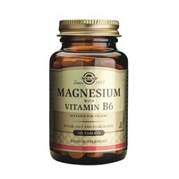 Solgar Magnesium With Vitamin B6 - 100 Ταμπλέτες