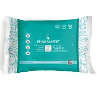 PHARMASEPT HYGIENIC GLEANSING GLOVES 10ΤΕΜ