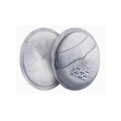 Anatomical Disposable breast pads 100% Cotton 24pcs