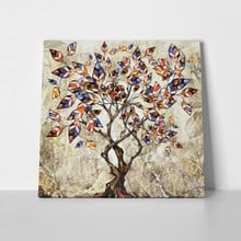 Stylized tree oil painting 670518193 a