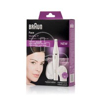 BRAUN - FACE Premium Edition Mini Epilator + Cleansing Brush SE830