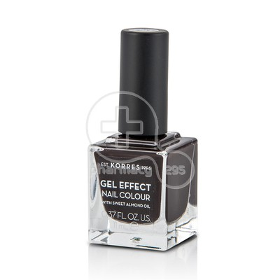 KORRES - GEL EFFECT Nail Colour No76 Smokey Plum - 11ml