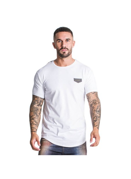 Gianni Kavanagh White Party Season Tee With Gk Ribbon