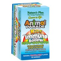 NATURES PLUS ANIMAL PARADE KIDS IMMUNE BOOSTER 90 CHEW. ANIMALS (TROPICAL BERRY)