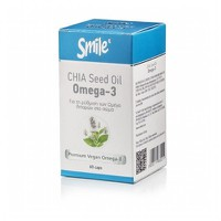 SMILE CHIA SEED OIL OMEGA-3 60CAPS