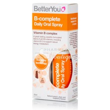 BetterYou B-Complete Daily Oral Spray - Mείωση κούρασης και κόπωσης, 25ml