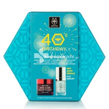 Apivita Σετ 40's Birthday Wine Elixir - Πλούσιας Υφής, 50ml & ΔΩΡΟ 5 Action Eye Serum, 15ml