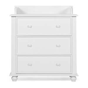 Victorian White Chest  3 Drawers+Changing Unit