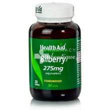 Health Aid BILBERRY 275mg - Όραση, 30tabs