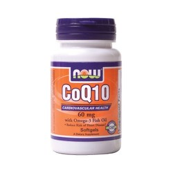 Now CoQ10 60mg 30softgels