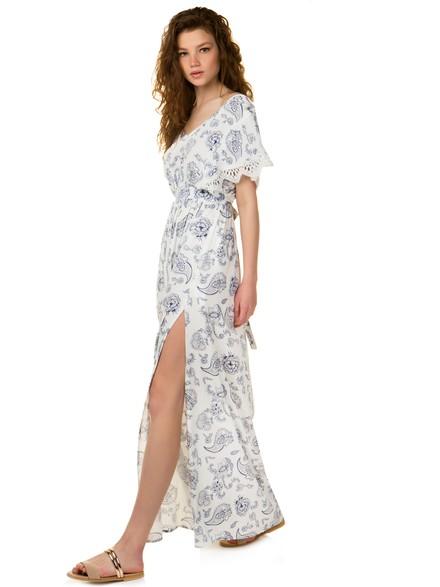e95fa679f8fb Maxi εμπριμέ φόρεμα
