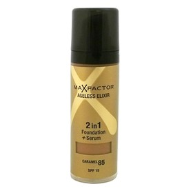 MAX FACTOR AGELESS ELIXIR 2ΣΕ1 FOUNDATION + SERUM 85 CARAMEL