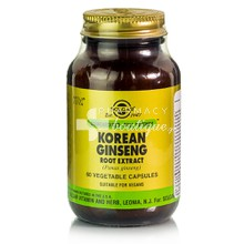 Solgar KOREAN GINSENG Root Extract - Τόνωση, 60 caps