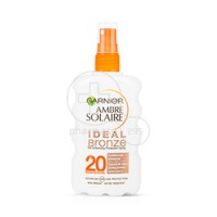 GARNIER - AMBRE SOLAIRE Ideal Bronze Tan Enhancing Protection Spray SPF20 - 200ml