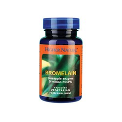 Higher Nature Bromelain 30 capsules