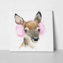 Cute forest deer 357009113 a