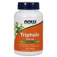 NOW TRIPHALA 500 MG 120 TABS