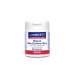 Lamberts Beta Carotene Natural 15mg 90 tabs