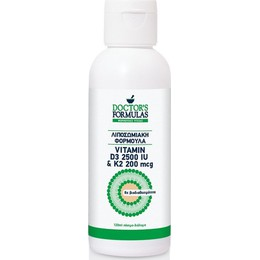 Doctors Formulas Vitamin D3 2500 IU & K2 200 mcg, 120 ml.