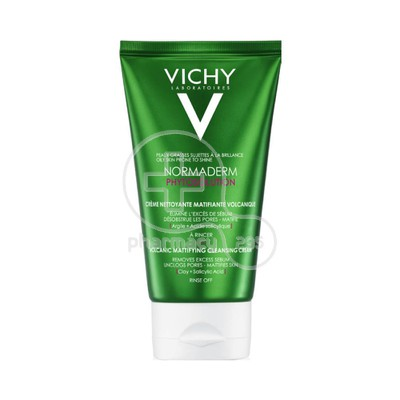 VICHY - NORMADERM Phytosolution Volcanic Mattifying Cleansing Cream - 125ml