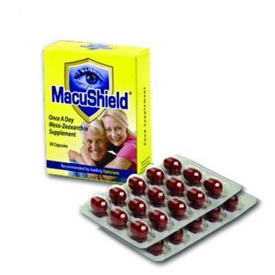 MACUSHIELD FOOD SUPPLEMENT 30CAPS