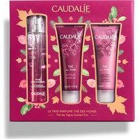 Caudalie Le Trio Parfume The des Vignes Fresh Fragrance 50ml & The des Vignes Body Lotion 50ml & The des Vignes ShowerGel 50ml